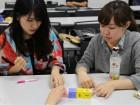 青学生が授業で、アイデア理論を初体験